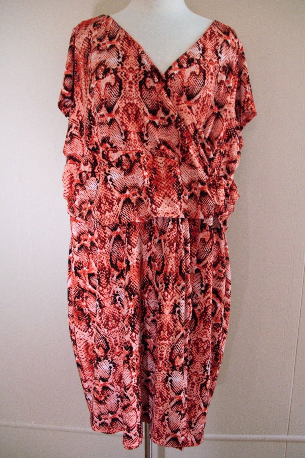d9e1642b8c Carmen Marc Valvo Dress orange peach black and 24 similar items. 57