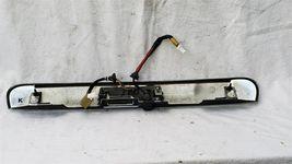 11-15 Nissan Rogue Chrome Tailgate Finish Garnish Panel Handle w/ 360° Camera image 4
