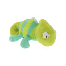 MagNICI Chameleon Green Crawling Stuffed Toy Magnet in Paws 5 inches 12 cm - $11.00