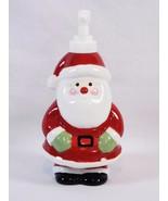 Target Santa Claus Ceramic Hand Pump Soap Lotion Dispenser Christmas Hol... - $9.89