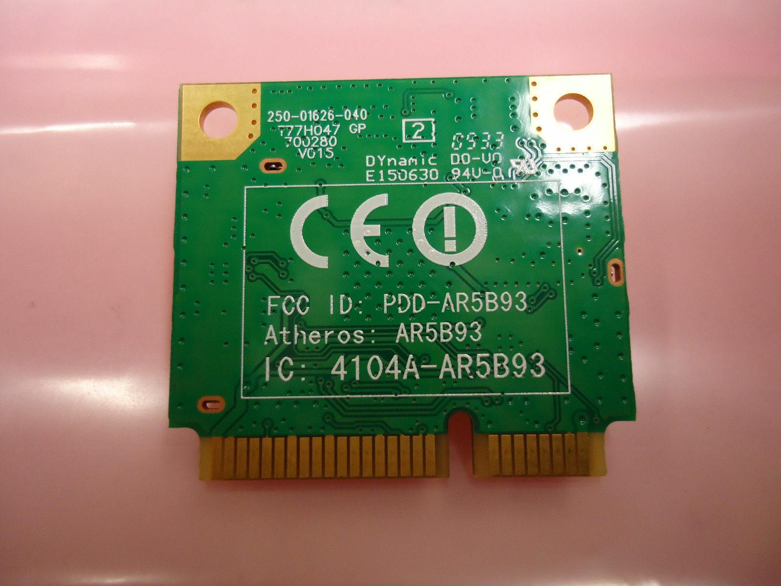 Acer AR5B93 Aspire One 532h 5534 Atheros 802.11 bgn Wireless PCI-E Card New image 2