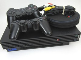 PlayStation 2 Original PS2 Fat Console Bundle with 2 Controllers Cables ... - $46.74