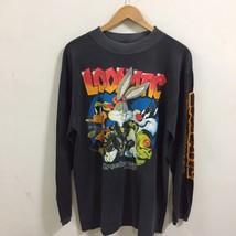 vtg 1992 BUGS BUNNY loonatic streetwear T-SHIRT XL 90s looney tunes 90s - $29.69