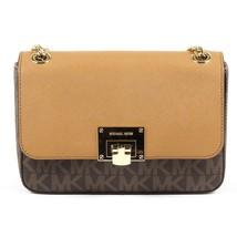 Brown ONE SIZE Michael Kors Womens Handbag TINA 35T7GT4F2B BRN ACORN - $314.20