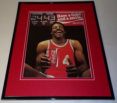1982 Coca Cola / Basketball Framed 11x14 ORIGINAL Vintage Advertisement - $32.36