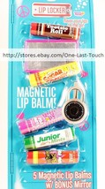 LOTTA LUV 6pc MAGNETIC BALM Lip Locker Set TOOTSIE ROLL+SUGAR DADDY+++ - $8.99