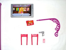 Barbie Glam Vacation Townhouse 2009 Blow Dryer Bed Ladder Replacement Part - $9.99