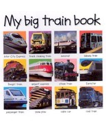 My Big Train Book by Roger Priddy (2003, Board Book, Revised) - $2.75