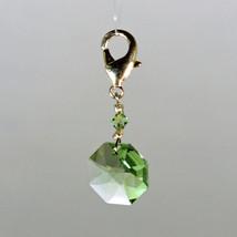 Crystal Octagon Zipper Pull image 8