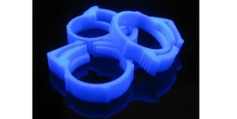 "Primochill UV Blue Nylon Hose Clamps for 3/4"" OD Tubing (10 Pack) - $10.88"
