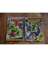 Amazing Spider-Man #119 120 Hulk appearance (Marvel Comics, 1973) Lot of 2 - $67.72