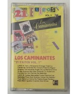 Los Caminates 21 Exitos Vol 1 Cassette Tape 1989 Luna Records - $23.36