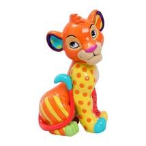 Simba Lion King Britto Figurine Disney Cub Cat Art New 6006089 - $31.96