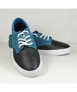 LACOSTE L!VE LIVE Barbados Grained Leather and Smooth Suede Sneakers Sho... - $59.98