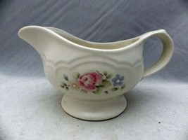 "Pfaltzgraff Tea Rose pattern - Gravy/Sauce Boat/Pitcher - 8"" wide - EUC - $7.91"