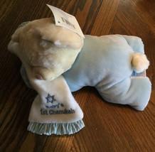 Russ Berrie Sweet Dreams Baby's First Chanukah Bear Plush Blue - $9.99