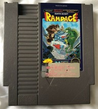 ☆ Rampage (Nintendo 1988) AUTHENTIC NES Game Cart Tested Working ☆ - $18.50