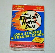 1987 Fleer REVCO Baseball's Hottest Stars Set - 44 cards - Barry Bonds (NM) - $12.00