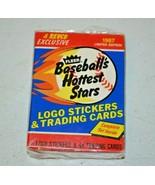 1987 Fleer REVCO Baseball's Hottest Stars Set - 44 cards - Barry Bonds (NM) - $12.00