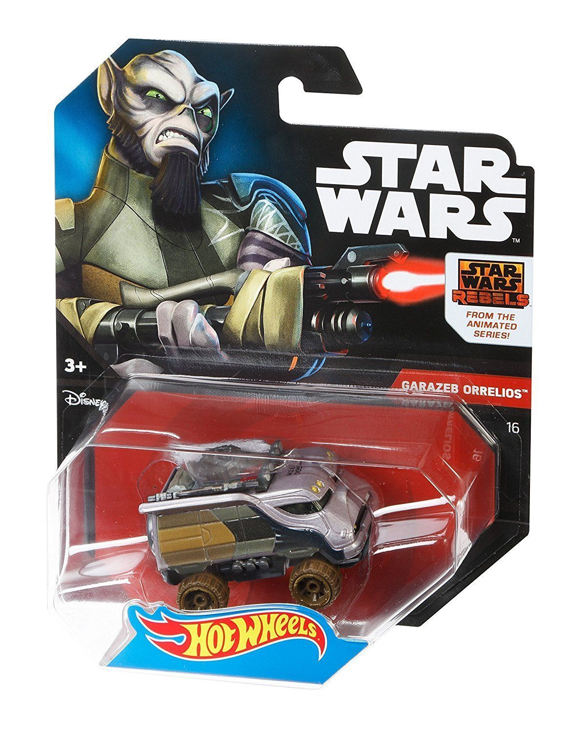 Hot Wheels Star Wars Character Car Star Wars Rebels GaraZeb Orrelios