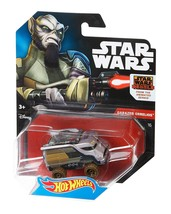 Hot Wheels Star Wars Character Car Star Wars Rebels GaraZeb Orrelios - $4.89