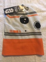 Star Wars Episode 7 BB 8 Droid Face Knit Beanie Force Awakens Unisex Hat... - $12.86