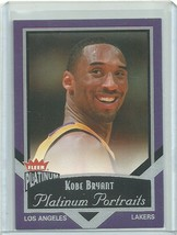 2002-03 FLEER PLATINUM PORTRAITS #13 KOBE BRYANT LAKERS FREE SHIPPING  - $4.99