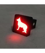 German Shepherd Silhouette LED Hitch Cover - Brake Light - $49.95