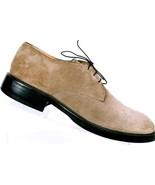 Cole Haan Men's Tan Suede Casual Lace Up Oxford Derby Shoes US 12 D EUR 45 - $43.58