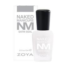 Zoya Nail Polish Naked Manicure Satin Seal Top Coat .5 oz