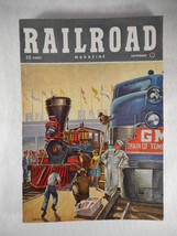 Vintage Railroad Magazine September 1948 Train on Cover - $14.80
