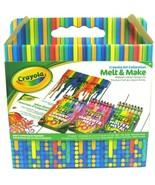 Crayola Art Collection Melt & Make Melted Crayon Design Kit(24 Crayons 3... - $18.78