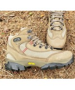 REI Gore-Tex Boots Womens 9.5 Monarch III GTX Walnut Leather Vibram Hiking - $58.41
