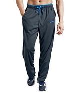 ZENGVEE Athletic Men's Open Bottom Light Weight Jersey Sweatpant with Zi... - $20.57