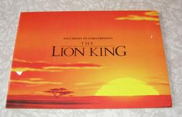 Disney The Lion King Movie Program 1990s - $14.99