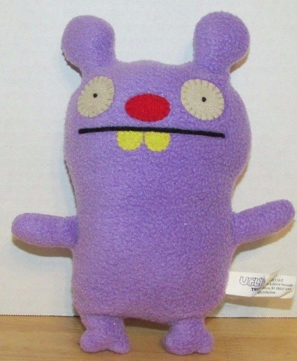 "Primary image for Trunko uglydoll plush doll purple 7"" stuffed animal"