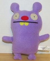 "Trunko uglydoll plush doll purple 7"" stuffed animal - $6.92"