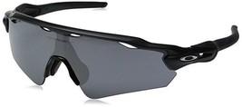 Oakley Men's Radar EV Asian OO9275-01 Shield Sunglasses, Matte Black, 35mm - $138.59