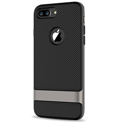 iPhone 7 Plus Case, JETech Two-Layer Slim Protective Case Cover with Shock-Absor