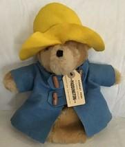 "Vintage Paddington Bear Hand Puppet 1984 Rare Plush Eden Toys 11.5"" Pret... - $19.79"
