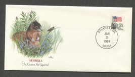Jan 2 1984 Fleetwood Baby Wildlife Georgia Fox Squirrel #1894   - $5.49