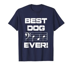 Brother Shirts - Mens Best Dog Dad Ever Music Shirt Notes Funny Fathers ... - $19.95+