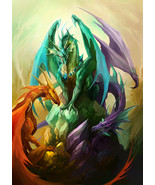 Haunted Three Dragons Ritual Pack Red Green Blue Power Energy Fame Luck ... - $755.00