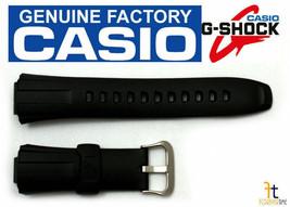 CASIO G-Shock GW-300 Original 16mm Black Rubber Watch BAND Strap GW-301 ... - $20.20