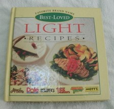Favorite brand name best-loved light recipes - hardcover cookbook - $17.99