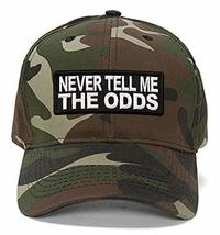 Never Tell Me The Odds Hat - Star Wars Han Solo Quote (Camo) - $17.05