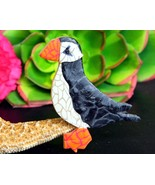 Puffin Bird Brooch Pin Polymer Clay Alaskan Art... - $24.95