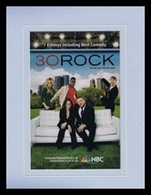 30 Rock 2008 NBC Framed 11x14 ORIGINAL Vintage Advertisement Alec Baldwin - $32.36