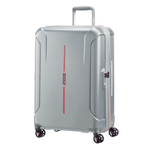 """American Tourister Technum 24"""" Spinner Luggage Grey/Red 92443-2645 - $149.99"""