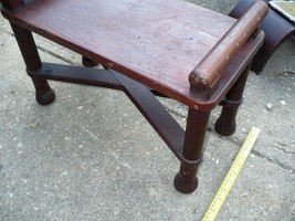 Rare Original White House Bench War of 1812 Fire Renovation Relic Roof T... - $3,860.19